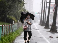 Golpea tifón a Japón