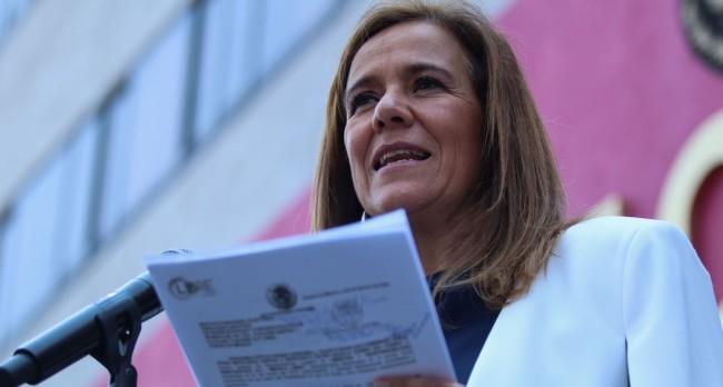 """Margarita Zavala celebra que  el INE contemple a """"México  Libre va"""" cómo partido político"""