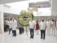Rinde ISSET  homenaje a  víctimas de  la pandemia