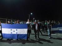 Hondureños inician caravana