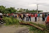 Manifestaciones y bloqueos desquiciaron a Villahermosa