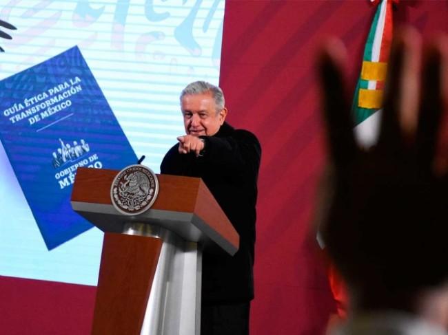 No es una imposición destaca López Obrador