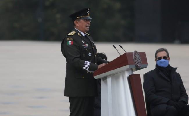 Fuerzas armadas no anhelan  poder ni protagonismo: Sandoval