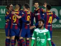 Barcelona avanza en la 'Copa del Rey'