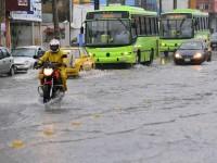 Se registrarán lluvias fuertes por frente frío 32