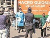 Otro récord más de casos Covid en México