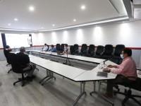 Celebra encuentro virtual Embajada Británica con personal de la FGE