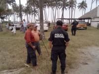 Desalojan  a bañistas  de Playa Sol en Paraíso