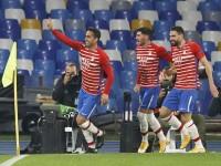 Granada sorprendió  a Nápoles le ganó 3-2