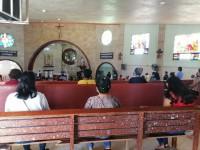 Aplican medidas sanitarias en las iglesias de la entidad