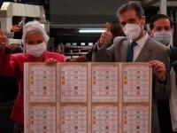 Inicia INE producción  de boletas electorales