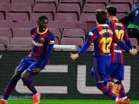 Barcelona logró agónico triunfo sobre Valladolid