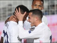 Real Madrid hace bailar merengue a Liverpool