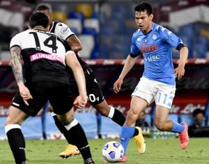 Chucky anota en la  goleada al Udinese