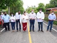 Inaugura Adán obras sociales en Cunduacán
