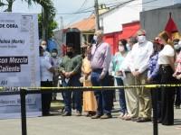 Inaugura AALH obras en Cárdenas