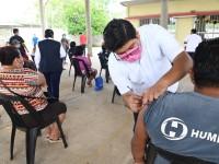 Arranca vacunación en 13 sedes rurales de Centro