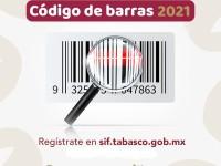 Continúa Sedec con programa de Código de Barras 2021