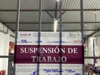 Suspenden  actividades en 15 comercios