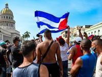 """Presidente de Cuba acusa  a EU de """"estallidos sociales"""""""