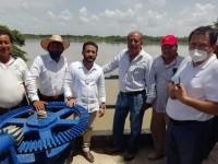 "Supervisa Conagua compuerta hidraúlica de ""San Gerónimo"""