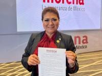 Firma Mayte Zapata carta compromiso
