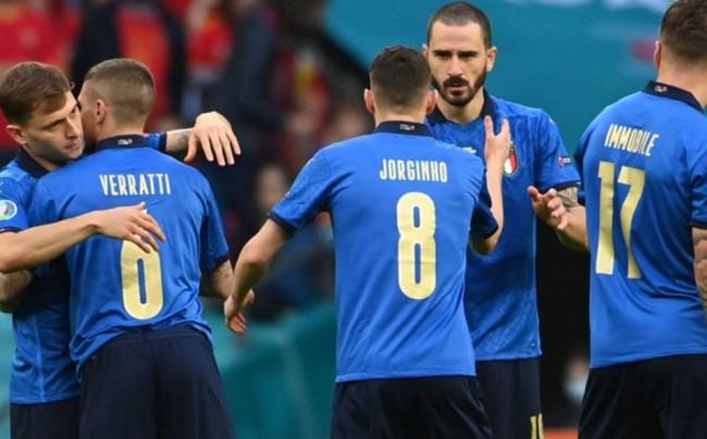 Italia primer finalista de la Eurocopa