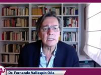 Se vive una crisis democrática: Vallespín Oña