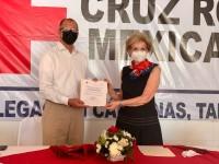 Nuevo consejo directivo de la Cruz Roja, en Cárdenas