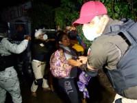 Dispersa la GN a cuarta caravana de migrantes