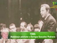 Recuerdan el legado del exgobernador González Pedrero en el canal de la UJAT