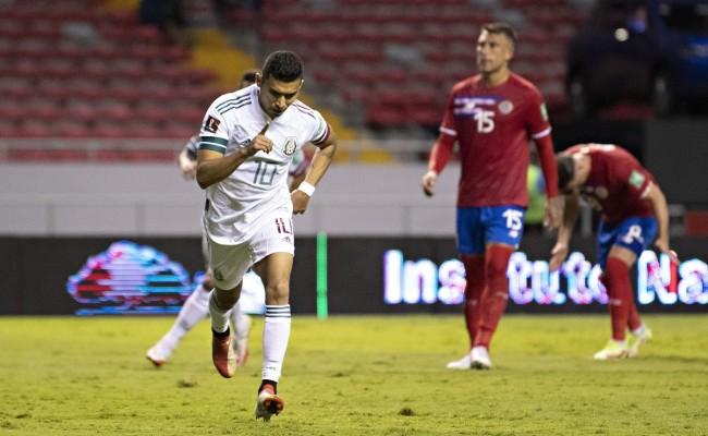 México consigue su segundo  triunfo, vence a Costa Rica 1-0